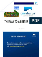 Introduction to One Sherpa