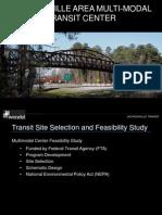 JUMPO Presenation on Multimodal Transportation Center Given to Jacksonville City Council on 2012 07 17