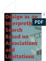 Design as an Interpretive Search Based on Associations and Limitations