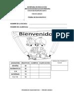 3° examen diagnostico-Y
