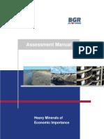 Heavy Minerals Economic Placers Sediment Book HARALD ELSNER