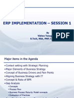 ERP Implementation - Session-1
