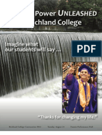 Fall 2012 Convocation Booklet - Learning Power UNLEASHED at Richland College