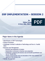ERP Implementation - Session-2