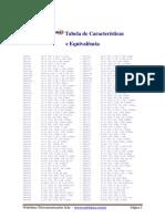 Tabela de Equivalencias de Transistores