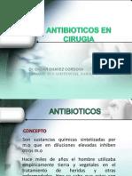 ANTIBIOTICOS en Cirugia I [Autoguardado] [Autoguardado]