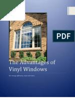The Advantages of Vinyl Windows