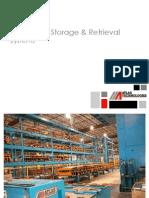 Automatic Storage & Retrieval Systems