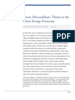 Green Mercantilism