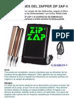 Aplicaciones del Zapper Zip Zap® de GAIARIAN® Dra. Hulda Clark Parásitos como la Causa de TODAS las Dolencias