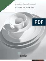 Rene Ozorio - Sonata Brochure