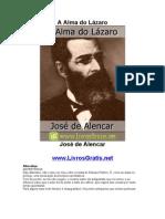 A Alma do Lázaro - José de Alencar-www.LivrosGratis