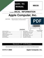 Apple m8536 Tft Lcd