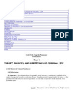 CriminalLaw LEXIS Outline
