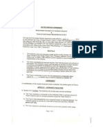 Cape Vincent NY , DANC  ~Water Service Agreement Districts 2 +3