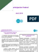 Coparticipacion Federal