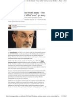 Salman Rushdie w KC Comment