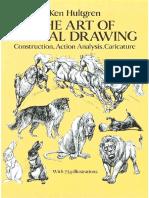 The Art of Animal Drawing - Ken Hultgren