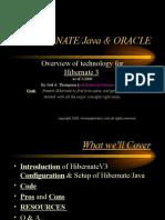 Hibernatejava and Oracle 1
