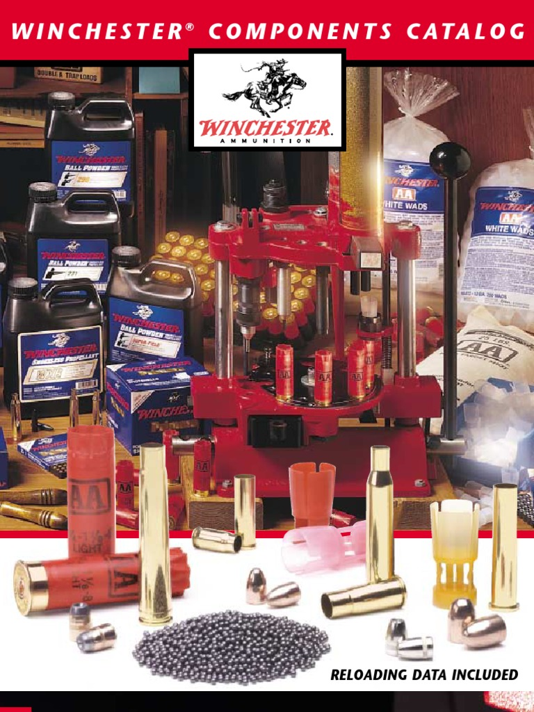 Winchester Components Catalog | Cartridge (Firearms) | Bullet