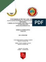 Modulo Formativo Ntics II 2012