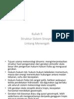 Kuliah 9b-Struktur Sistem Sinoptik Lintang Menengah