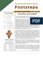 Footsteps July-Aug 12