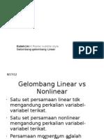 Kuliah 14a-Gelombang Linear
