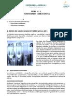 Tema 1.2.3 Sueroterapia Intravenosa