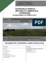 4_Relazione Ripristino Campo FV_Campeggia