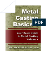 Metal Casting Basics Book 1