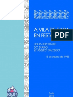 FESTAS DE SADA · 1935
