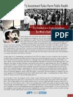 TPP & Public Health
