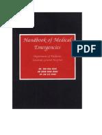 Handbook of Emergency Medicine