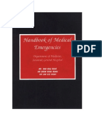 Handbook of Emergency Medicine