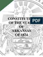 Arkansas Constitution 1874