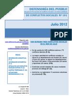 Reporte N°101 - Julio_2012