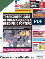 Edición completa de Diario Popular del sábado 18/08/2012