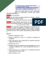 dicionário de matemática elementar
