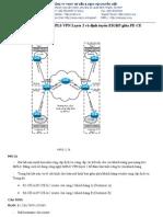 Lab 1.9 Cấu hình MPLS VPN Layer 2 và định tuyến EIGRP giữa PE-CE