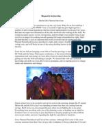 Sample Week 11 Blog Post