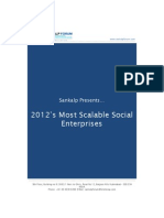 2012's Most Scalable Social Enteprises