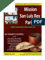 MSLRP Bulletin 8-19-2012