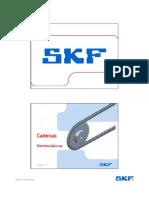 Nomenclatura Cadenas y Piñones SKF