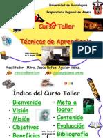 Curso Taller Tcnicas de Aprendizaje2309