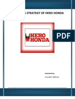 Marketing Strategy of Hero Honda