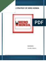 Marketing Strategy of Hero Honda
