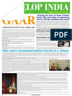 Develop India Year 4, Vol. 1, Issue 195, 29 April - 6 May, 2012