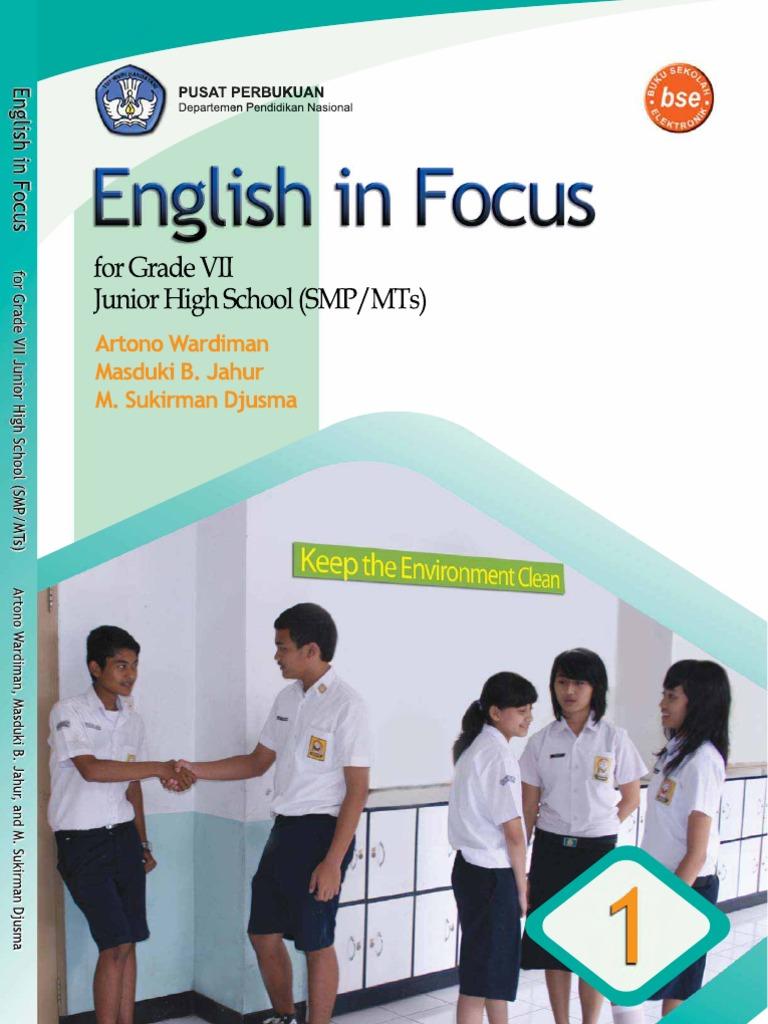 BAHASA INGGRIS KELAS 7 Tekanan Linguistik