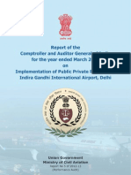 CAG Report on Delhi Airport Modernisation Scam